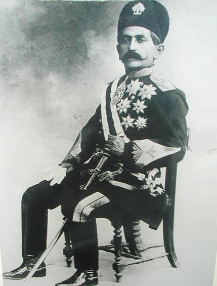 Haj Ali Gholi Khan Bakhtiari (Sardar Asad the 2nd) leader of the Bakhtiari forces