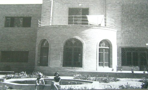 The house in Isfahan